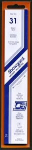 Showgard Stamp Mounts Size 31 / 215 BLACK Background Pack of 22