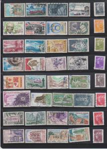 LOT OF DIFFERENT STAMPS OF FRANCE  USED (40) LOT#377