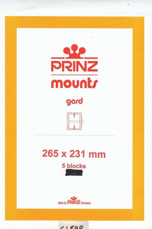 PRINZ 265X231 (5) BLACK MOUNTS RETAIL PRICE $17.50