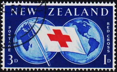 New Zealand. 1959 3d+1d S.G.775  Fine Used