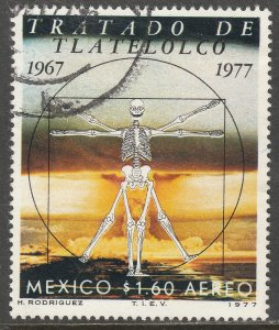 MEXICO C533, 10th Anniv of Treaty of Tlaltelolco. Used. F-VF. (838)