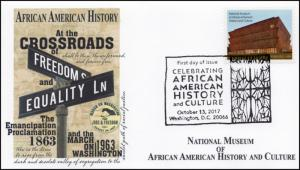 17-346, 2017, African American History and Culture, Pictorial, FDC, Washington