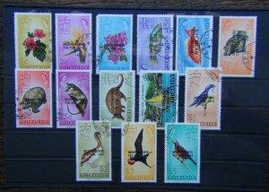 Grenada 1974 Independence set to $5 Fine Used SG594 - SG607