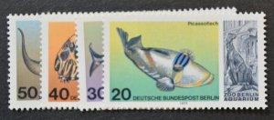 Berlin Sc # 9N411-414, VF MNH