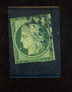 France #2 Used Fine Cat$900