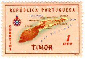 Timor Scott 280 (1956: Map)