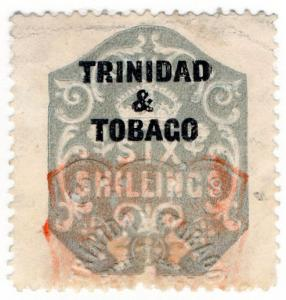 (I.B) Trinidad & Tobago Revenue : Duty Stamp 6/-