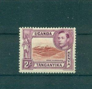 K.U.T. - Sc# 81. 1944 2Sh Geo.VI. Mint. $30.00.
