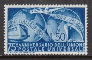 Italy #514 Very Fine Never Hinged