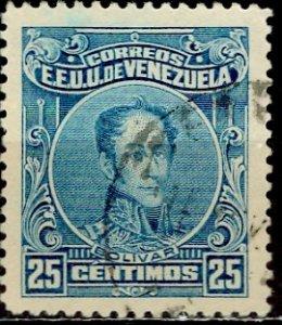 Venezuela 1924; Sc. # 276; O/Used Single Stamp
