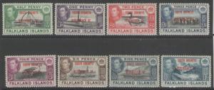 FALKLAND IS.DEP. SGC1/8 1944 SOUTH ORKNEYS MNH