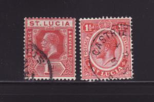 St Lucia 77, 79 U King George V