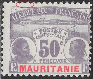 Mauritania J6 Unused/Hinged - Natives - Thin