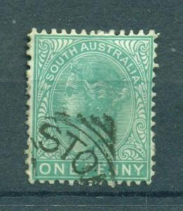 South Australia sc# 64 (2) used cat val $1.00