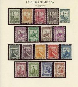 PORTUEGESE GUINEA VASCO DA GAMA SCOTT#233/50 MINT HINGED --SCOTT VALUE $54.05