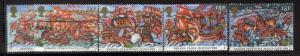 Great Britain Sc 1217-1 1988 Spanish Armada stamps used