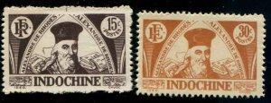 Indo-China SC# 238-9 de Rhodes set MNGAI