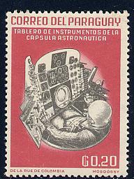 Paraguay Scott # 745, mint
