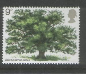 Great Britain 1973 Tree (1 value) Scott #688