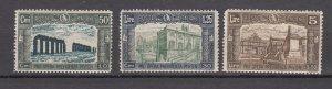 J27891 1930 italy hv,s of set mh #b36-8 designs