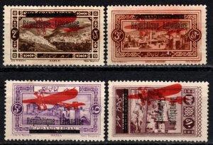 Lebanon #C17-20  Unused CV $22.00 (X5647)