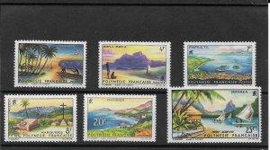 FRENCH POLYNESIA #211-15 MNH