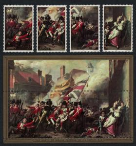 Jersey Battle of Jersey 4v+MS SG#244-MS248