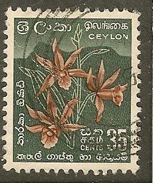 Ceylon   Scott  351      Flowers