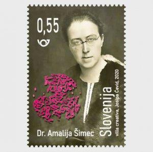 2020 Slovenia Dr Amalija Simec  (Scott NA) MNH