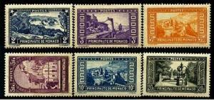 HERRICKSTAMP MONACO Sc.# 125-30 Key High Value NH Stamps