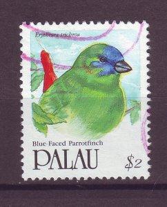 J25468 JLstamps 1991-2 palau part of set used #281 bird