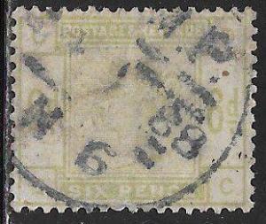 Great Britain 105 Used - Victoria - Faded