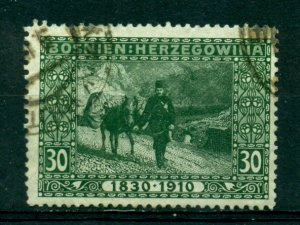 Bosnia & Herzegovina 1910 #54 U SCV(2020)=$3.75
