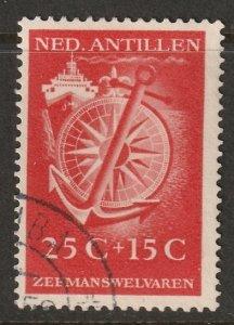 Netherlands Antilles 1952 Sc B19 used