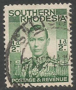 SOUTHERN RHODESIA 42 VFU R965-1
