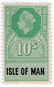 (I.B) Elizabeth II Revenue : Isle of Man 10/-