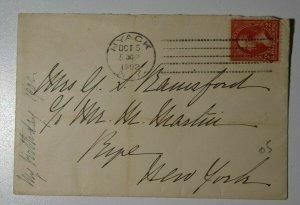 US Sc#267b Used On Cover Vermellian Nyack NY 1902