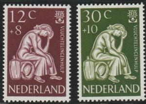 Netherlands, #B341-B342 MNH From 1960
