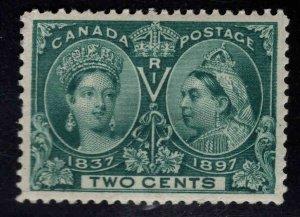 CANADA Scott 52 MH* 2c Jubilee Queen Victoria 1897 CV $37.50