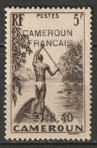 Cameroun 1940 Sc 277 Yt 230 MH* partial gum