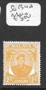 MALAYA  JOHORE (P1205B) SULTAN SG 134A    MOG