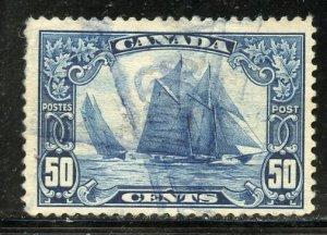 Canada # 158, Used. CV $ 65.00