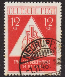 Germany DDR Scott 10NB3 F to VF used.