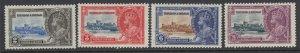 Trinidad & Tobago, Scott 43-46 (SG 239-242), MHR