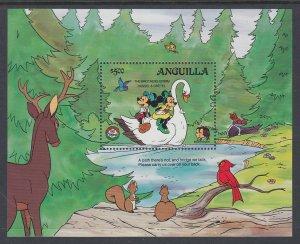 Anguilla 652 Disney's Souvenir Sheet MNH VF