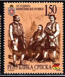 Bosnia and Herzegovina Serb Admin MNH Scott #117 1.50d Nevesinje Rebellion. 1...