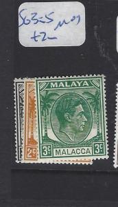 MALAYA  MALACCA  (P0507B)  KGVI 1C-3C   SG 3-5  MOG