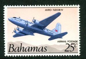 Bahamas C3b airmail airplane no inscription  MNH mint      (Inv 001249.)