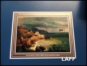 Rwanda - Arts - Mini Sheet MNH