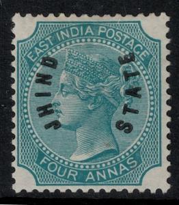India-Jino 1885 SC 38 LH CV $97.50